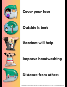 Download of COVID Health Color Poster